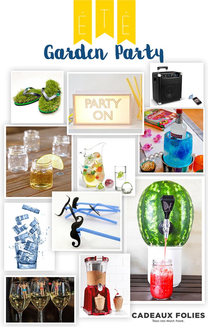 11 Gadgets cool pour une Garden Party