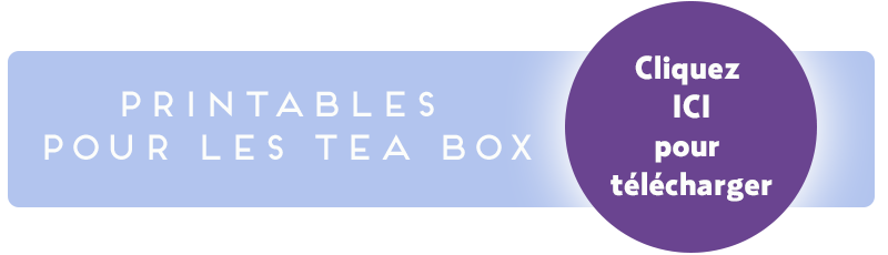 Tea Box DIY Noël
