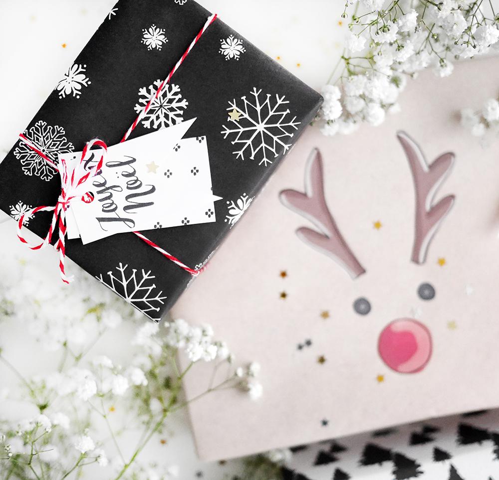 étiquettes cadeaux printables