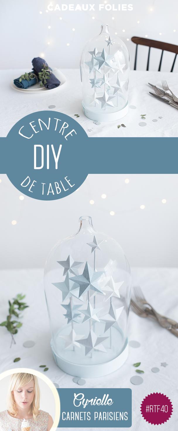 DIY Noël rond de table