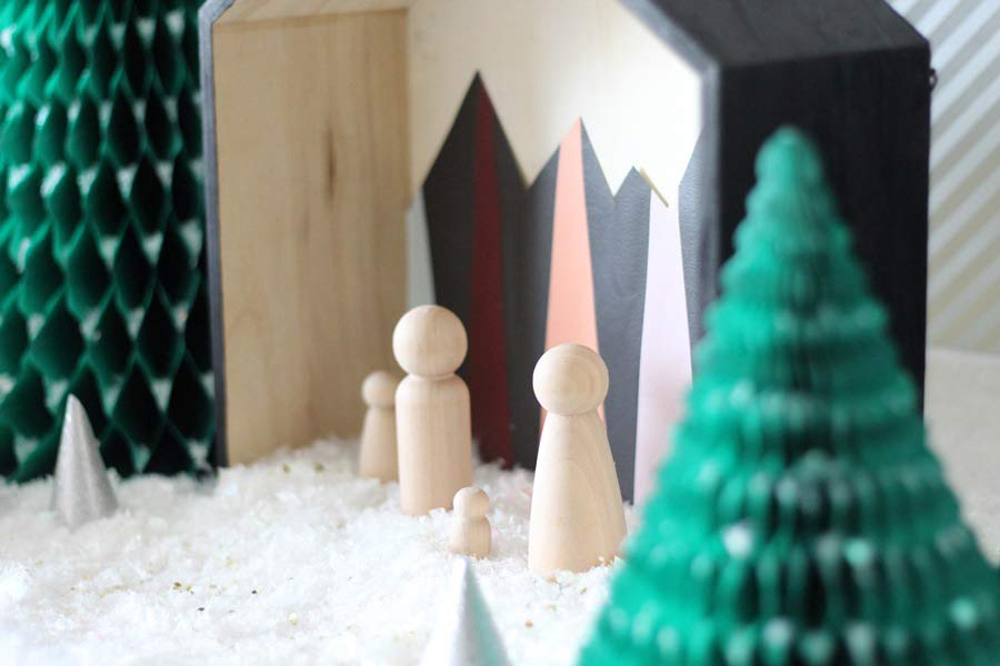 DIY crèche de Noël