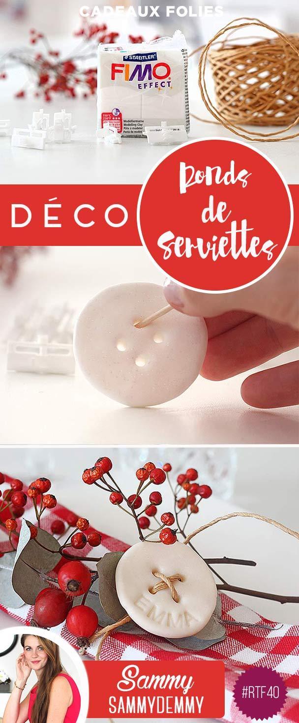 Diy Rond De Serviette diy décoration de noël : ronds de serviettes originaux