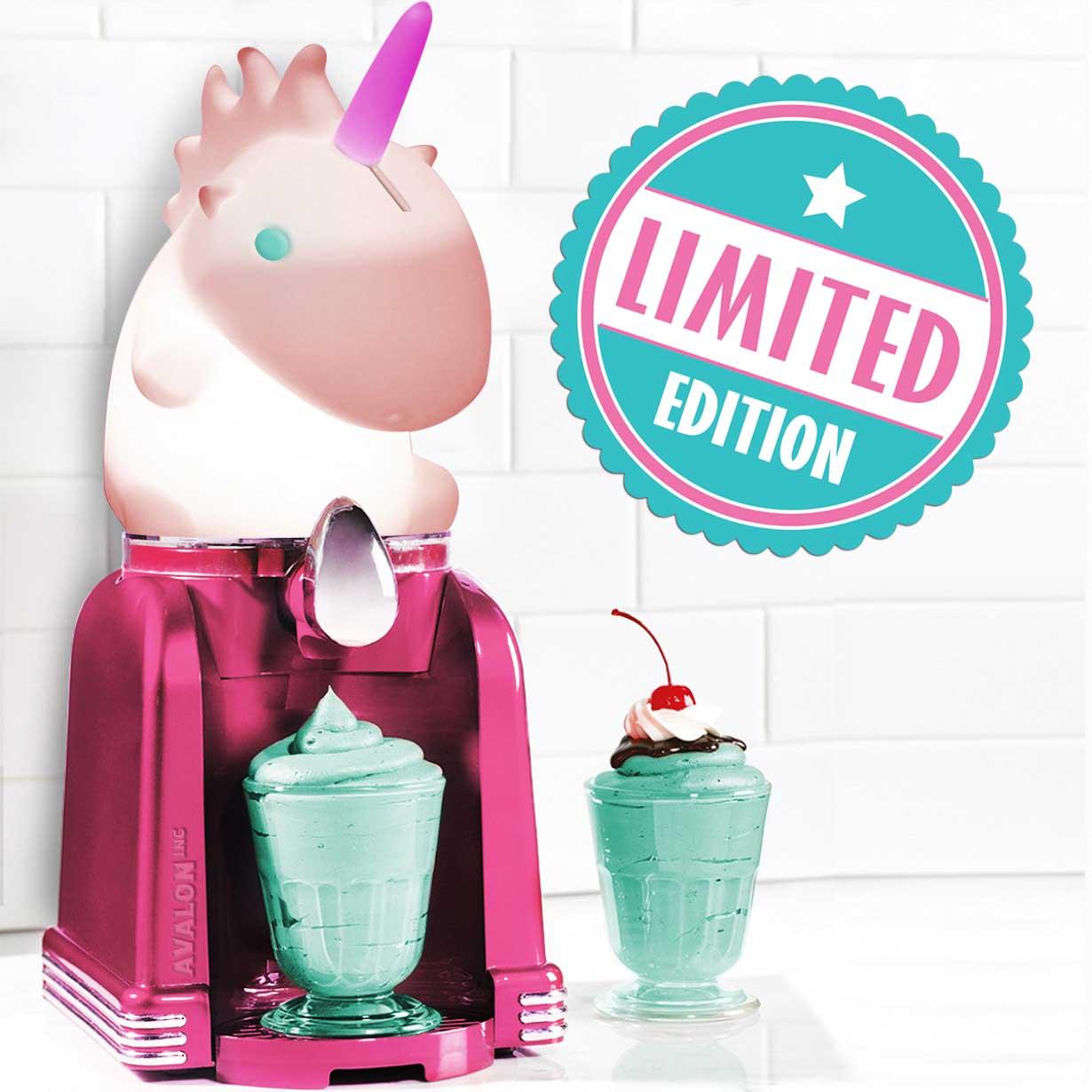 Machine glace en forme de licorne sur cadeauxfolies - Machine a glace italienne maison ...
