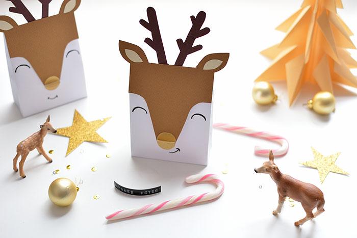 Diy De Noel Petites Boîtes Cerfs