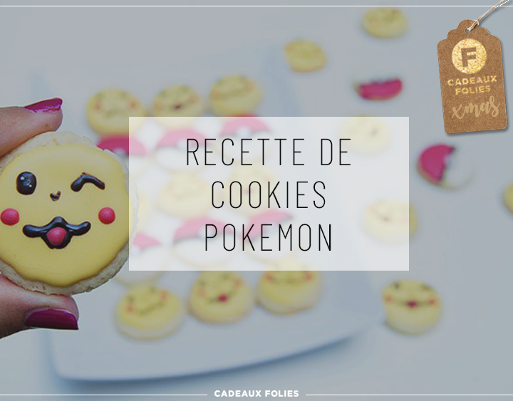 Biscuits de Noël - Cookies Pokemon