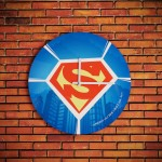 Horloge personnalisable Superman