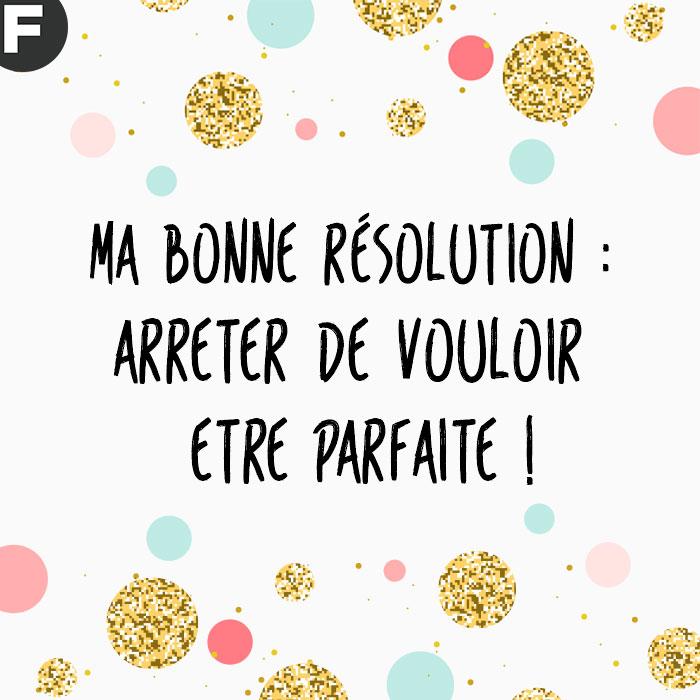 bonne résolution 2017