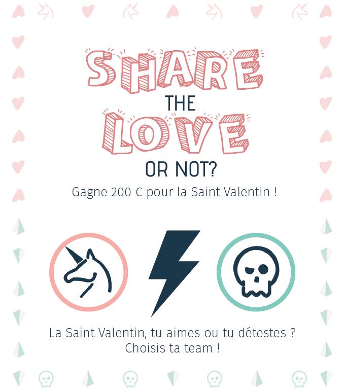 Concours St Valentin