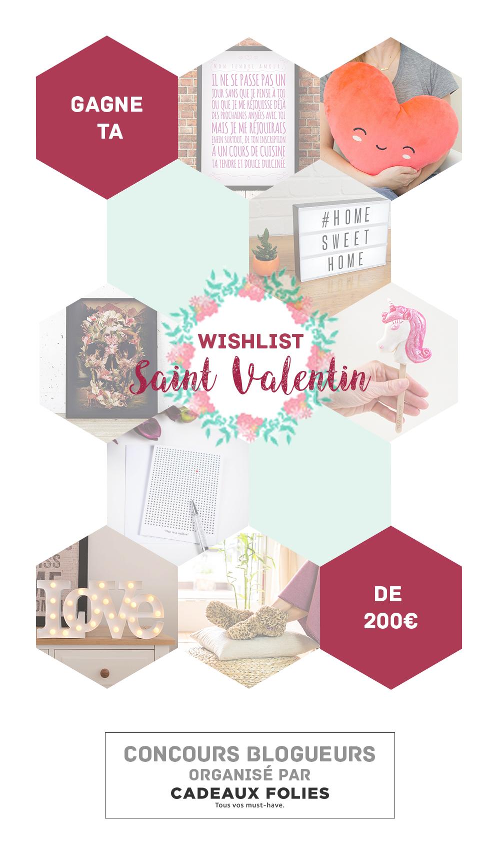 Concours blogueurs St Valentin