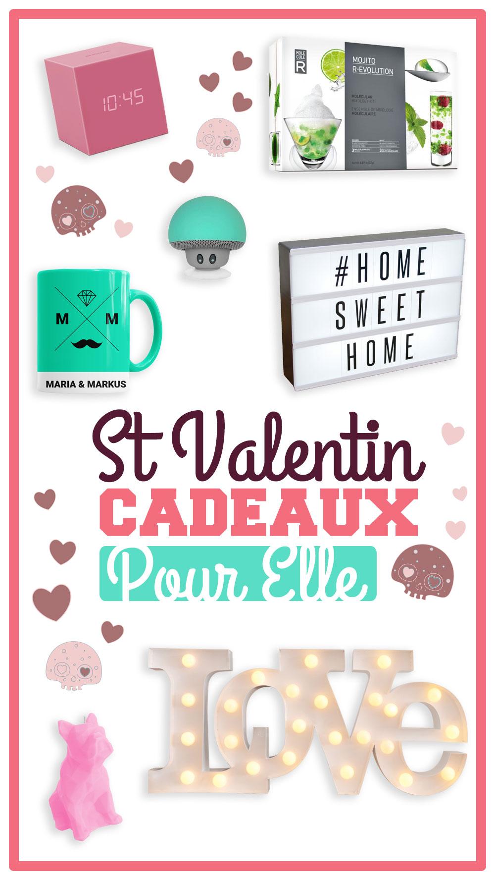 trouvez votre cadeau saint valentin femme cadeauxfolies. Black Bedroom Furniture Sets. Home Design Ideas