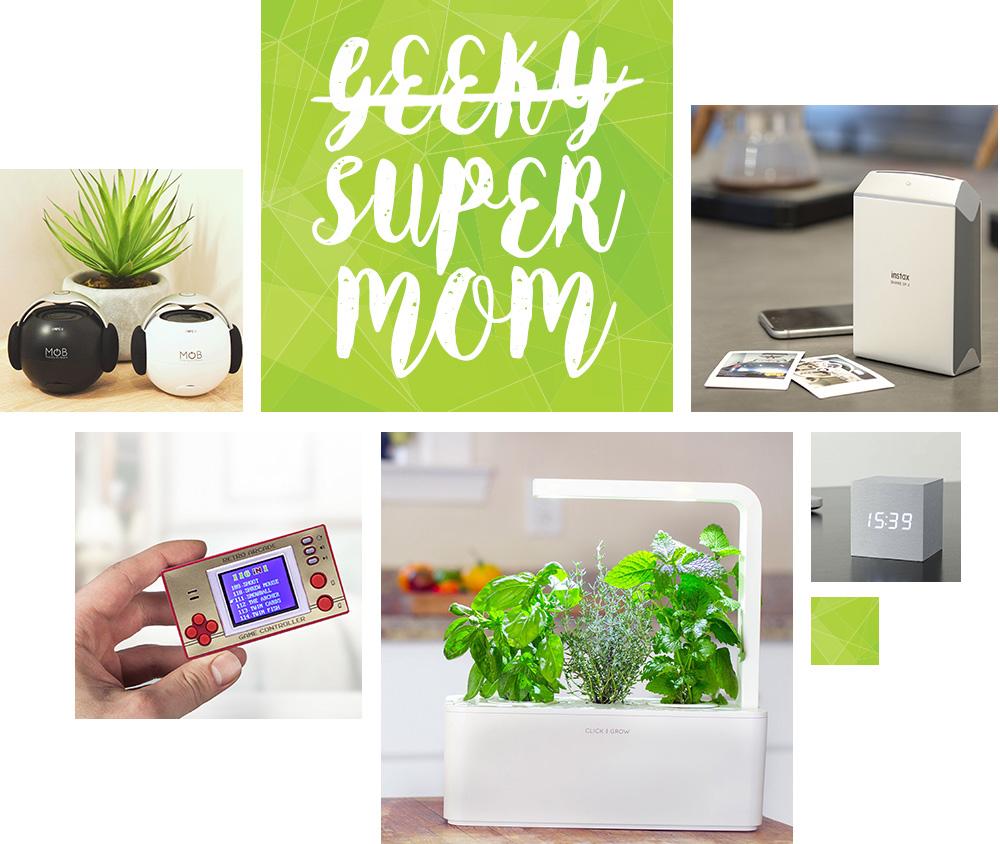 id e cadeaux fete des meres un cadeau pour une maman geek. Black Bedroom Furniture Sets. Home Design Ideas