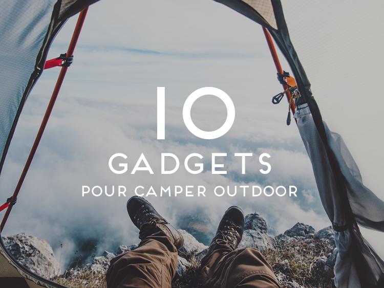 Gadgets plein air