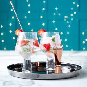 cocktail sans alcool coffret cadeau verres à gin