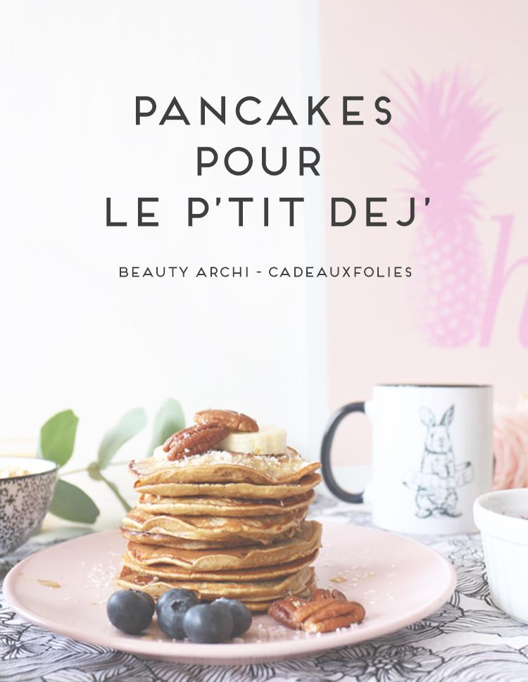 Pancakes petit déjeuner
