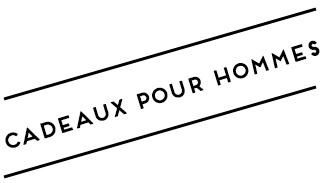 CADEAUX DE NOEL POUR HOMMES