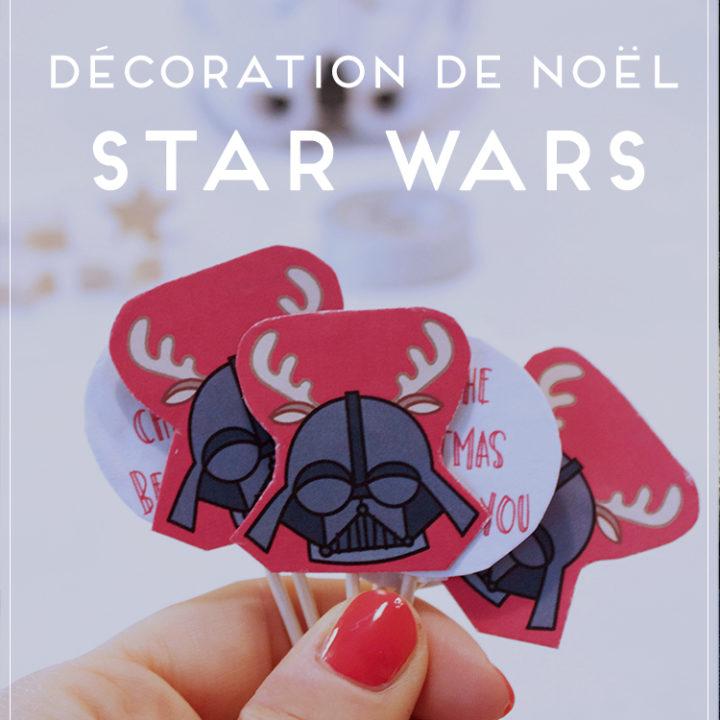 Décoration cupcake Star Wars