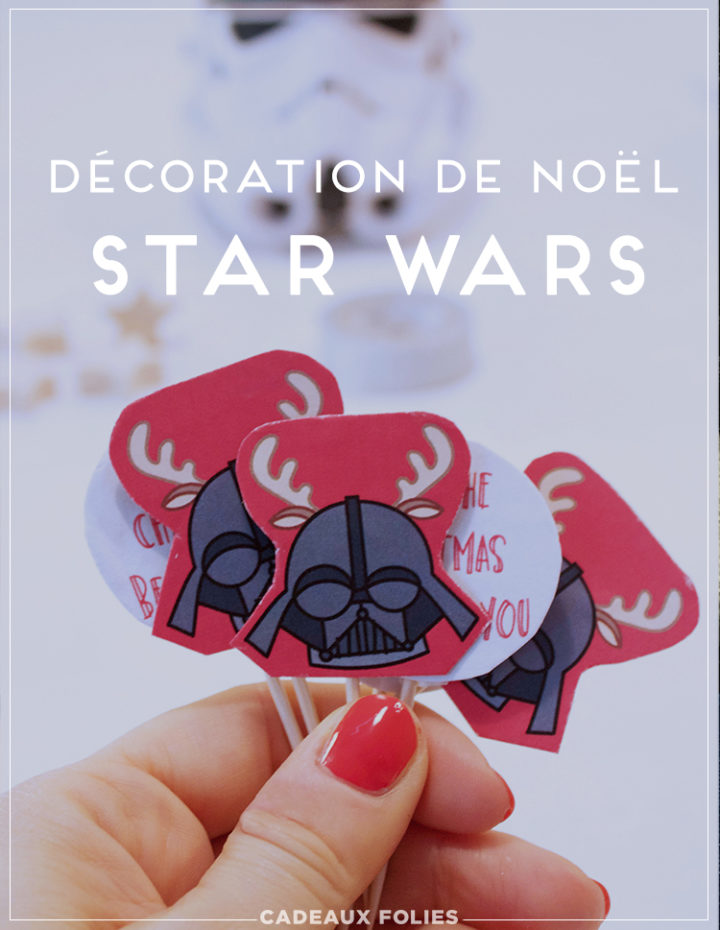 Décoration cupcake Star Wars