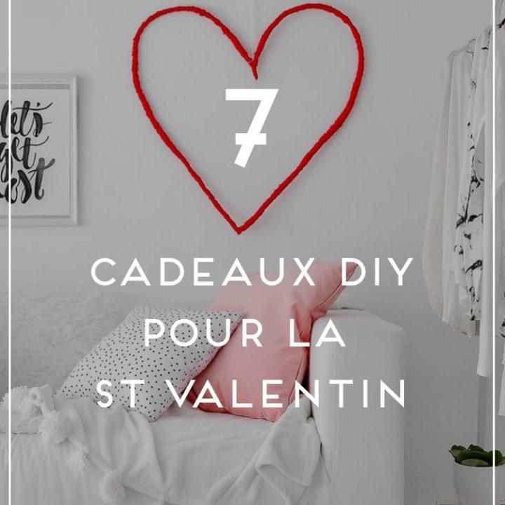 cadeaux DIY st Valentin