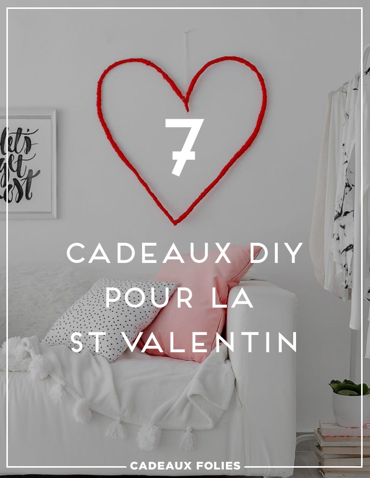 deco saint valentin a faire soi meme cool plein duides de cadeaux diy pour la with deco saint. Black Bedroom Furniture Sets. Home Design Ideas