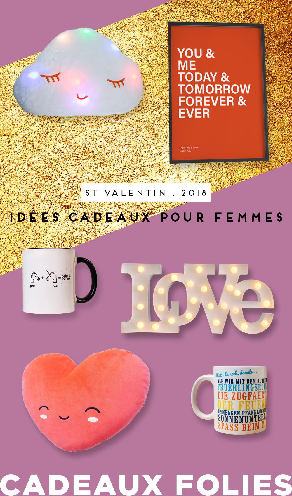 nos meilleurs cadeaux de saint valentin pour femme 2018. Black Bedroom Furniture Sets. Home Design Ideas