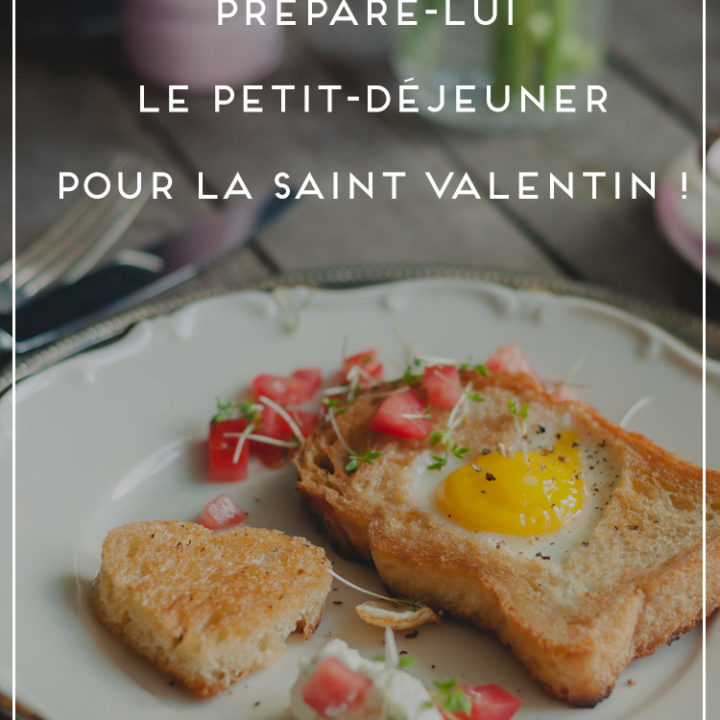 petit-déjeuner St Valentin