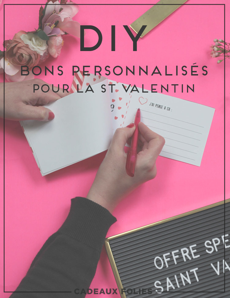 Coupons de St Valentin