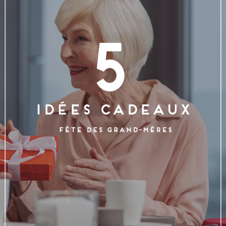 Cadeau pour la Fete des grand-mères