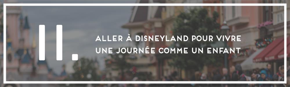 Numéro 11 : Disneyland
