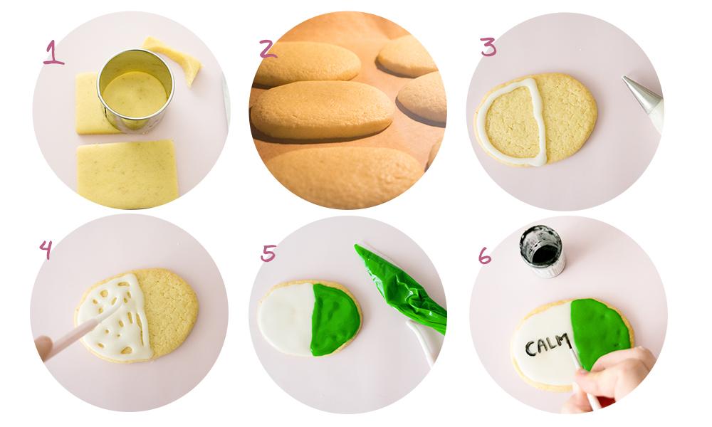 les etapes de la recette