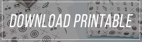 printable emballages cadeaux