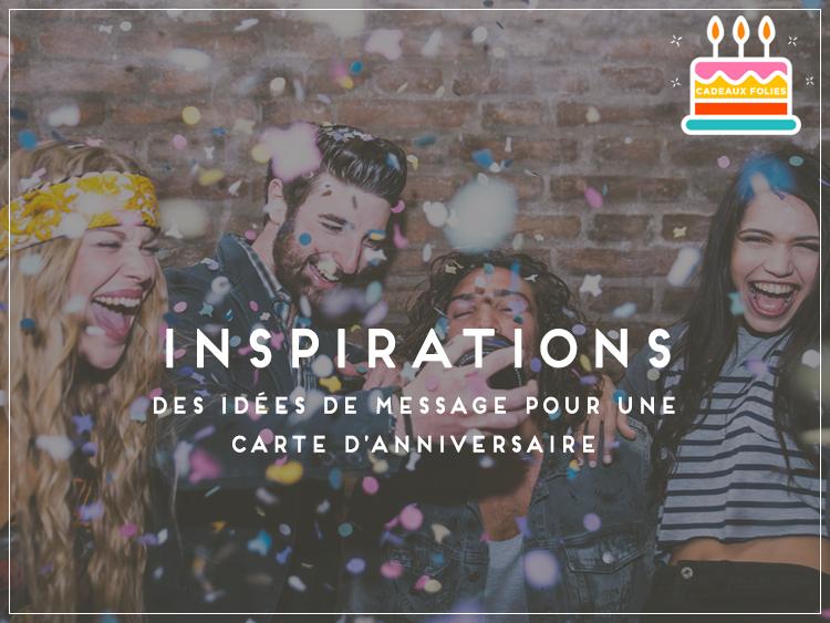 Message D Anniversaire Modeles De Textes Pour Ecrire Une Carte Originale