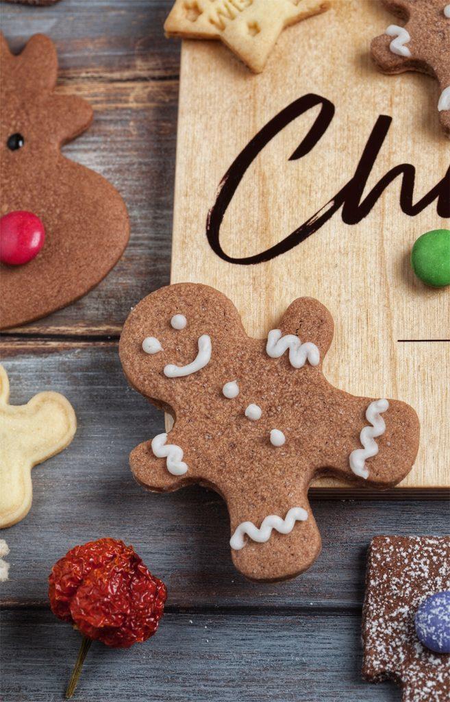 la recette des bonhommes en pain d'épices de Noël