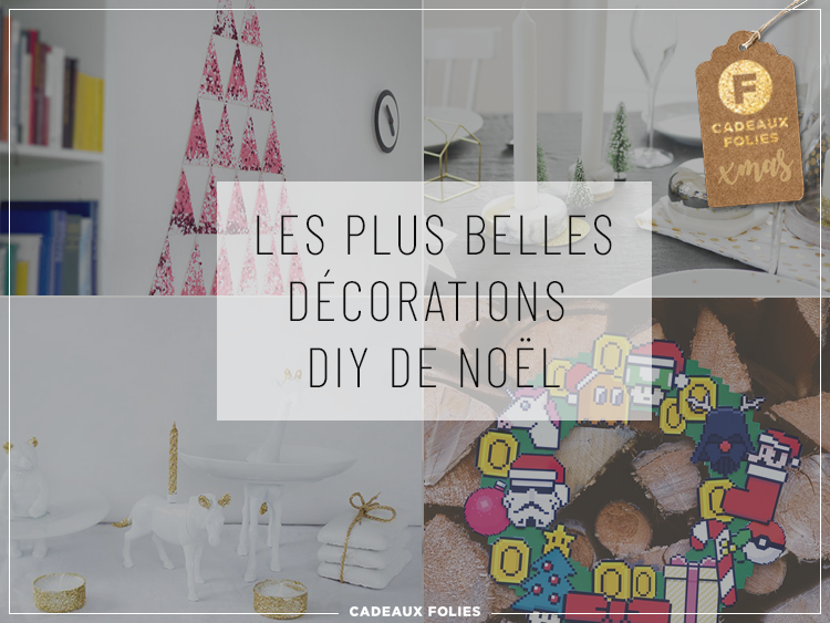 deco noel 2018 les plus belles d corations de no l diy. Black Bedroom Furniture Sets. Home Design Ideas