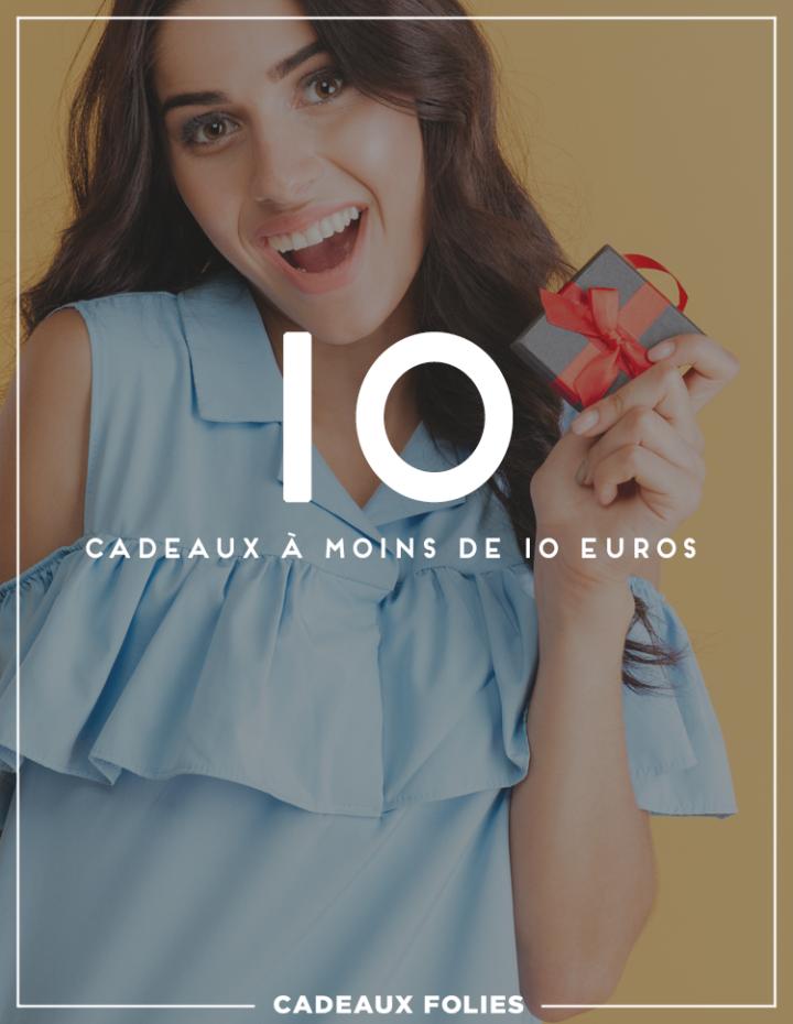 10 bonnes idées cadeaux à moins de 10 euros