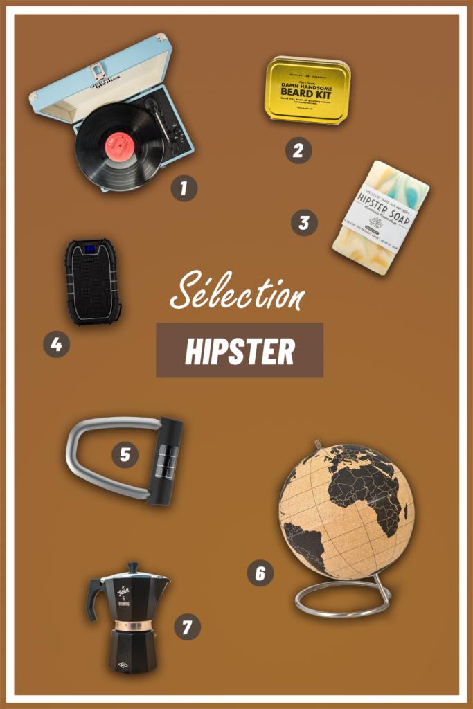 Cadeaux homme : les meilleures idées à offrir à un hipster