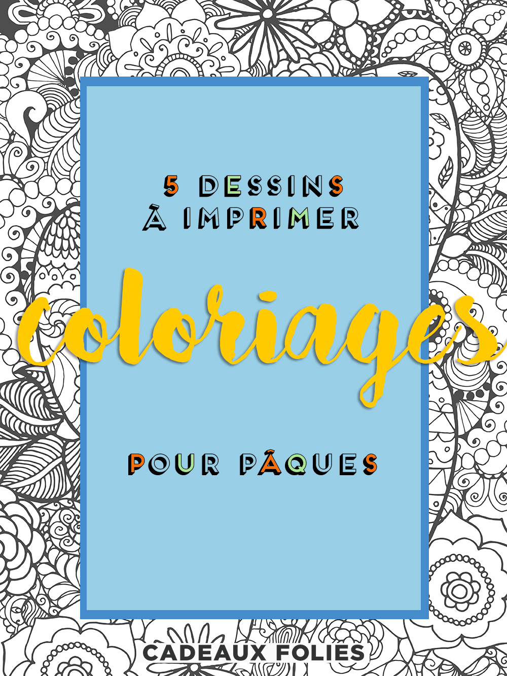 coloriage paques