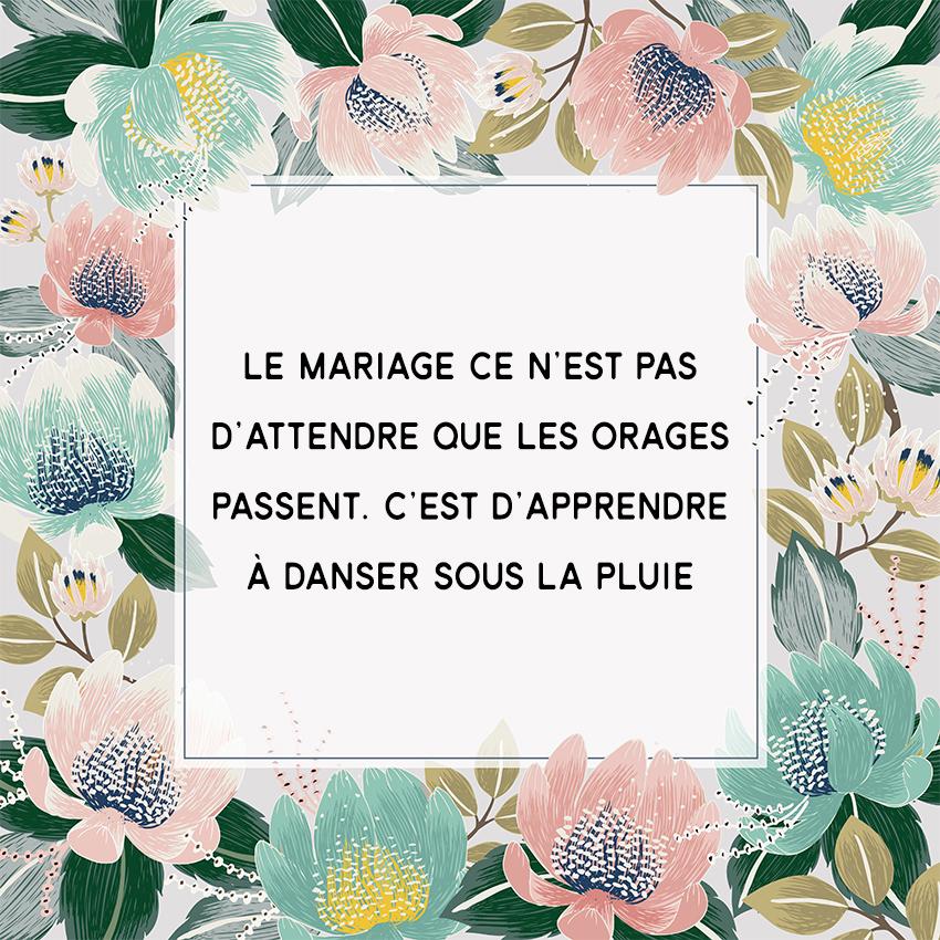 citation mariage