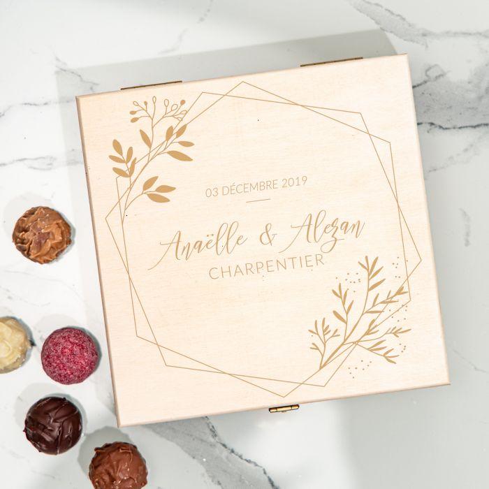 citation mariage Boîte de Chocolats pour Couples