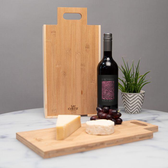 décoration table de mariage Coffret cadeau Vin & Fromage