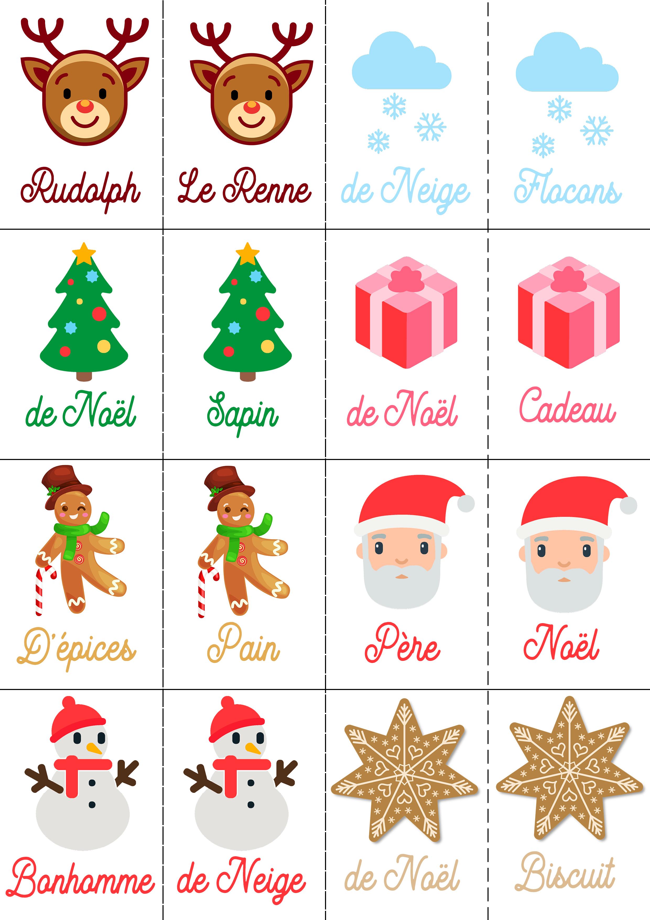 4 Jeux De Noel Pour Petits Et Grands A Imprimer Gratuitement
