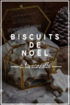 biscuits noel cannelle