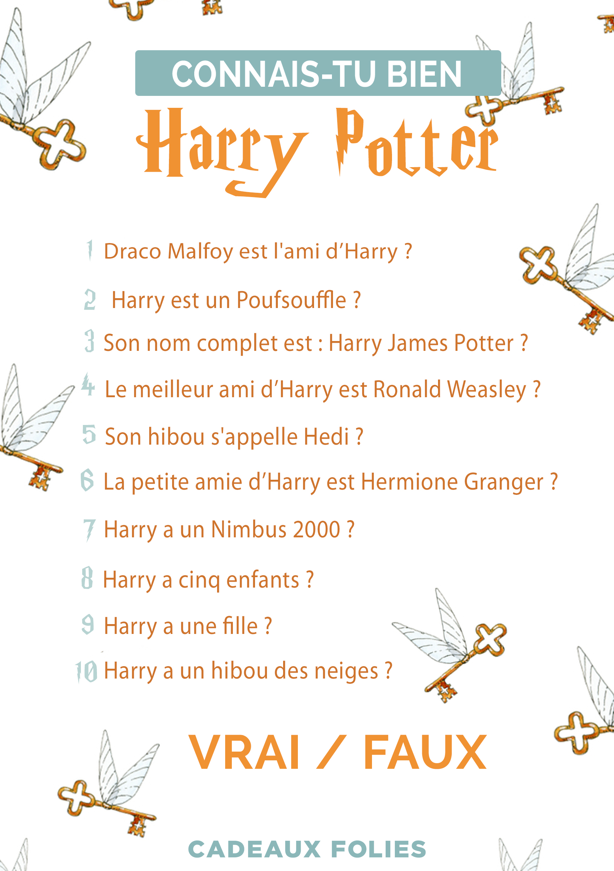 Quizz A Imprimer Signes Astro Harry Potter