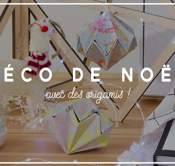 Déco Noël Origami