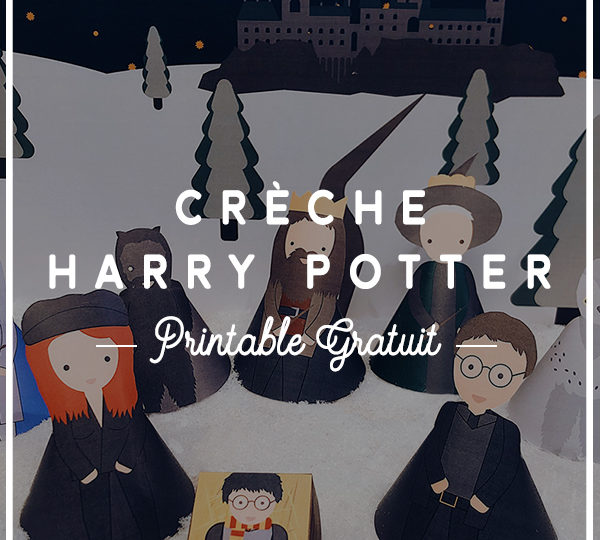 crèche harry potter