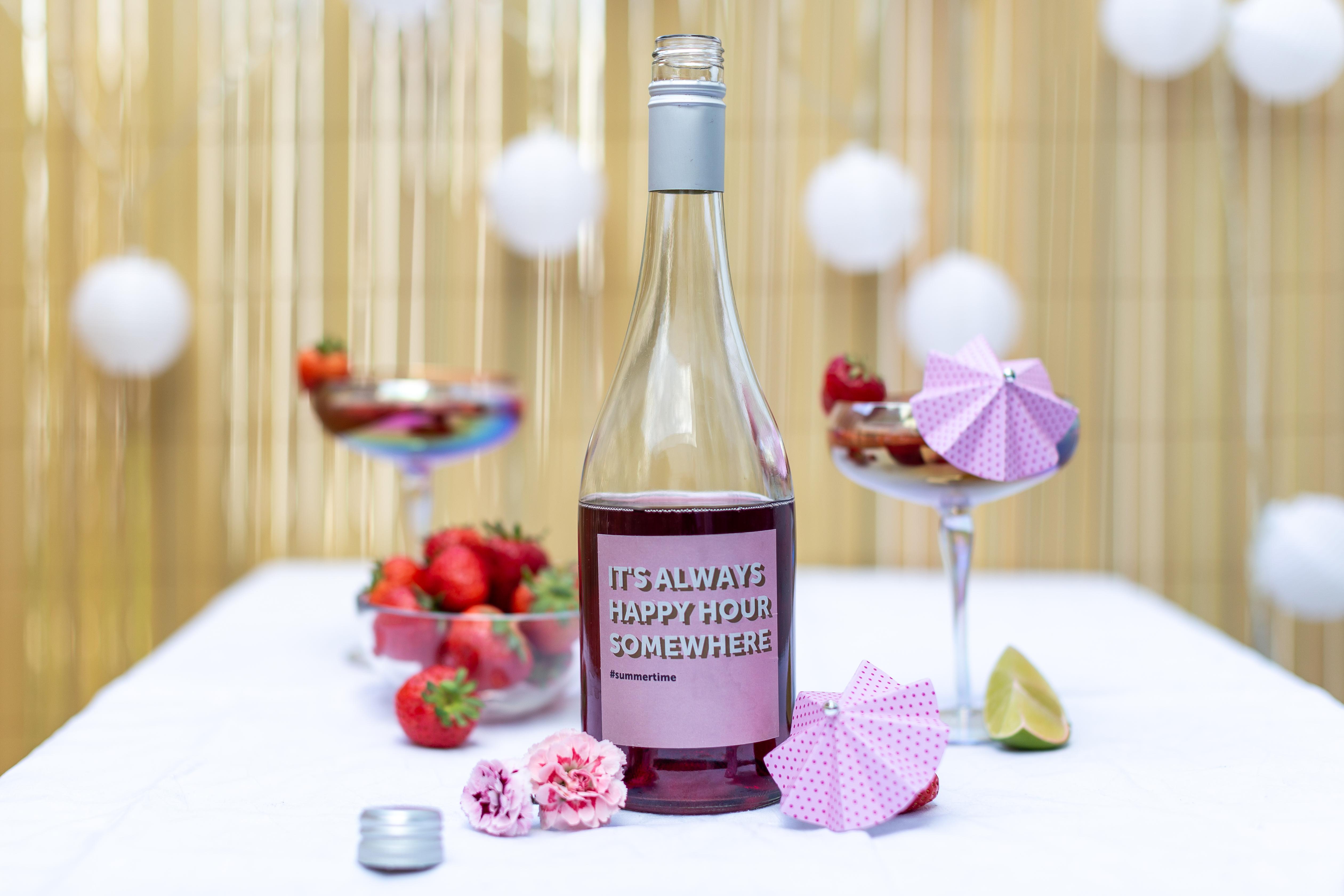 Notre Cocktail de l'été Daiquiri aux fraises