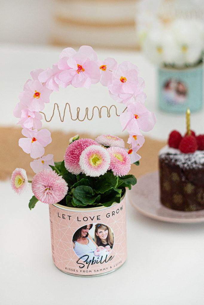 Des fleurs pour la fête de Mères