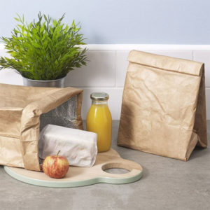 cadeau écologique lunch bag imitation papier 1