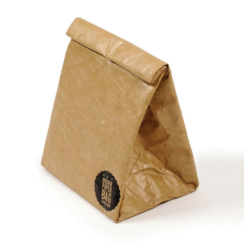 cadeau écologique lunch bag imitation papier 2
