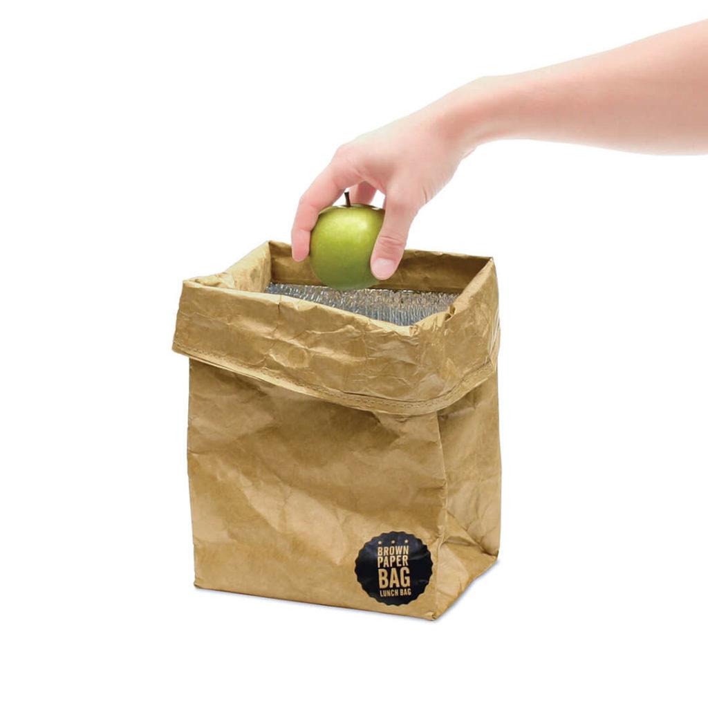 cadeau écologique lunch bag imitation papier 3