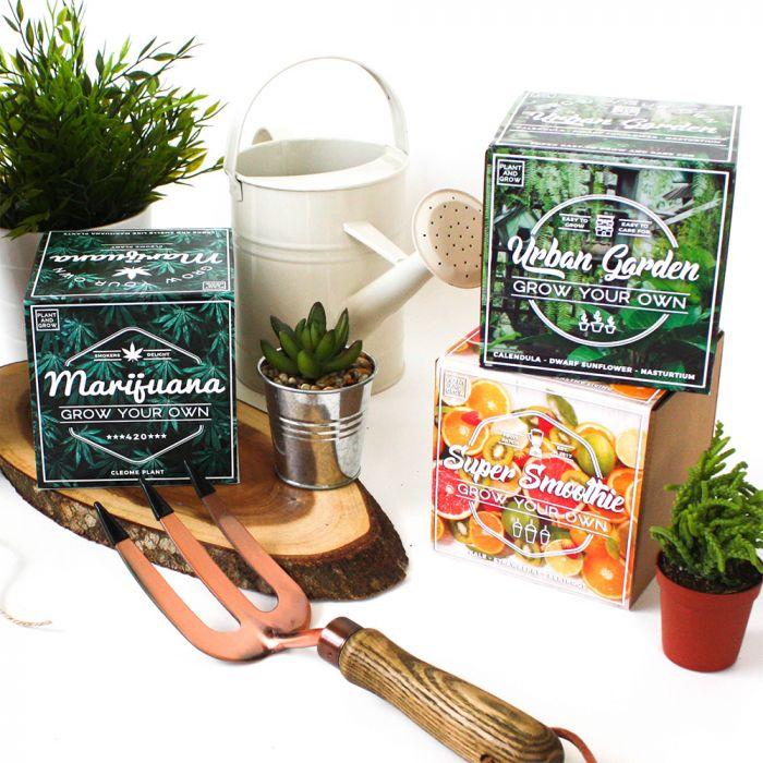 cadeau écologique kit de jardinage urbain